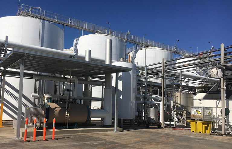 Hot Water Treatment Facilities